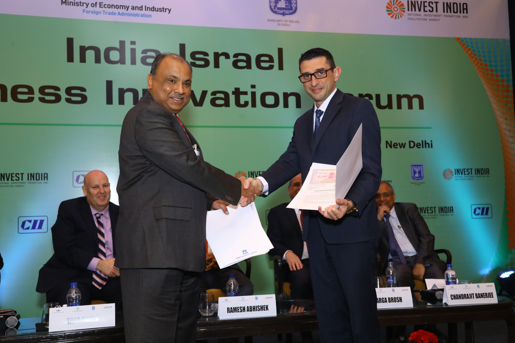 Hyderabad, India: Watergen signed a memorandum of understanding with the Indian corporation TATA