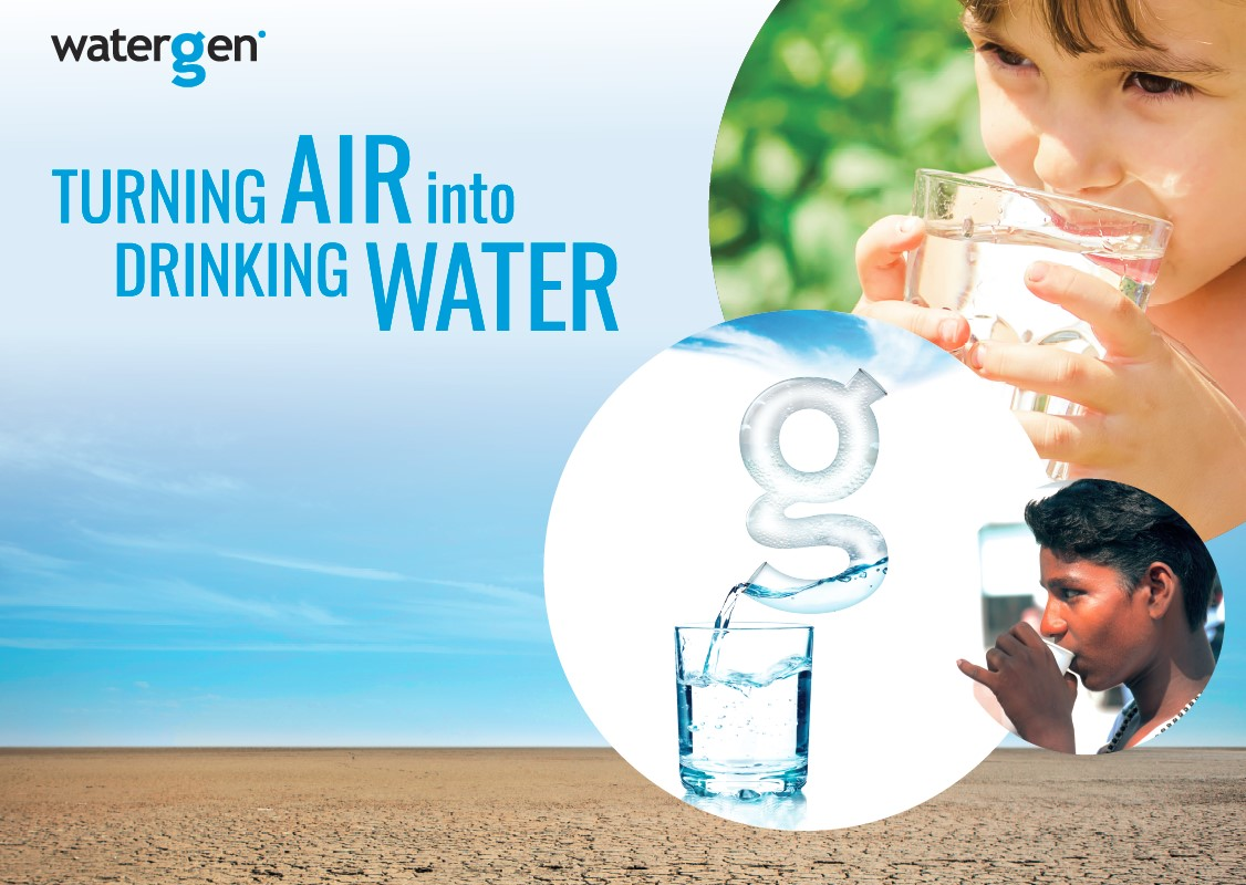 Watergen Awarded as Technology Pioneer by World Economic Forum