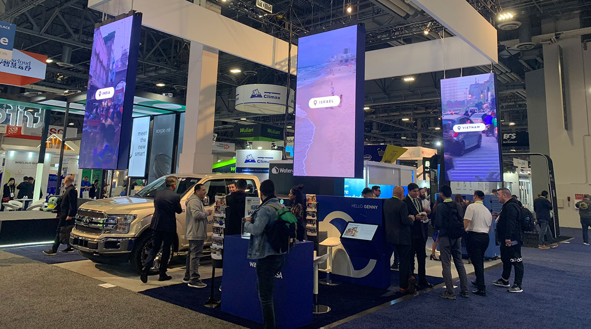 Watergen welcomed 2019 by showing off its groundbreaking water-from-air tech at CES Las Vegas
