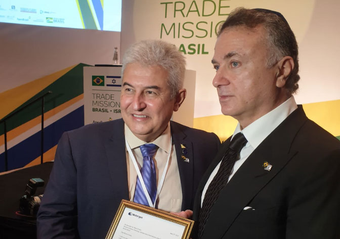 Watergen Reveals New Plans to Brazilian Minister Pontes at Brazil Israel Innovation Summit
