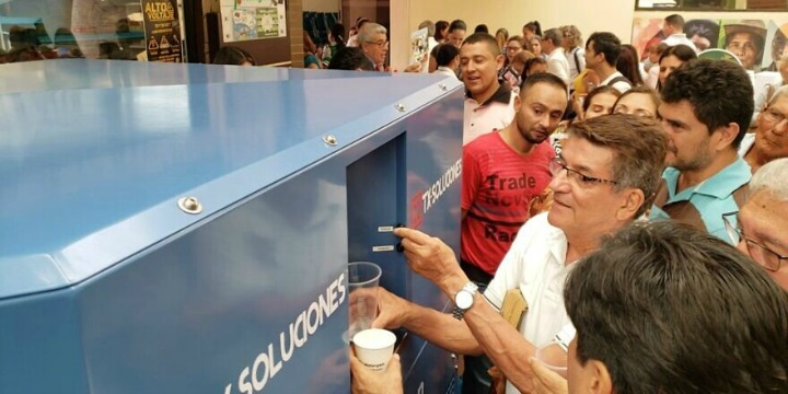 Israeli Technology Converts Air Into Water For Residents in Northern Colombia