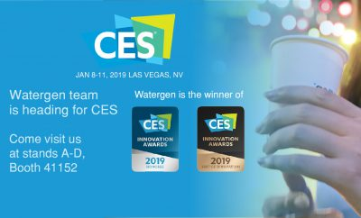 Watergen at CES 2019