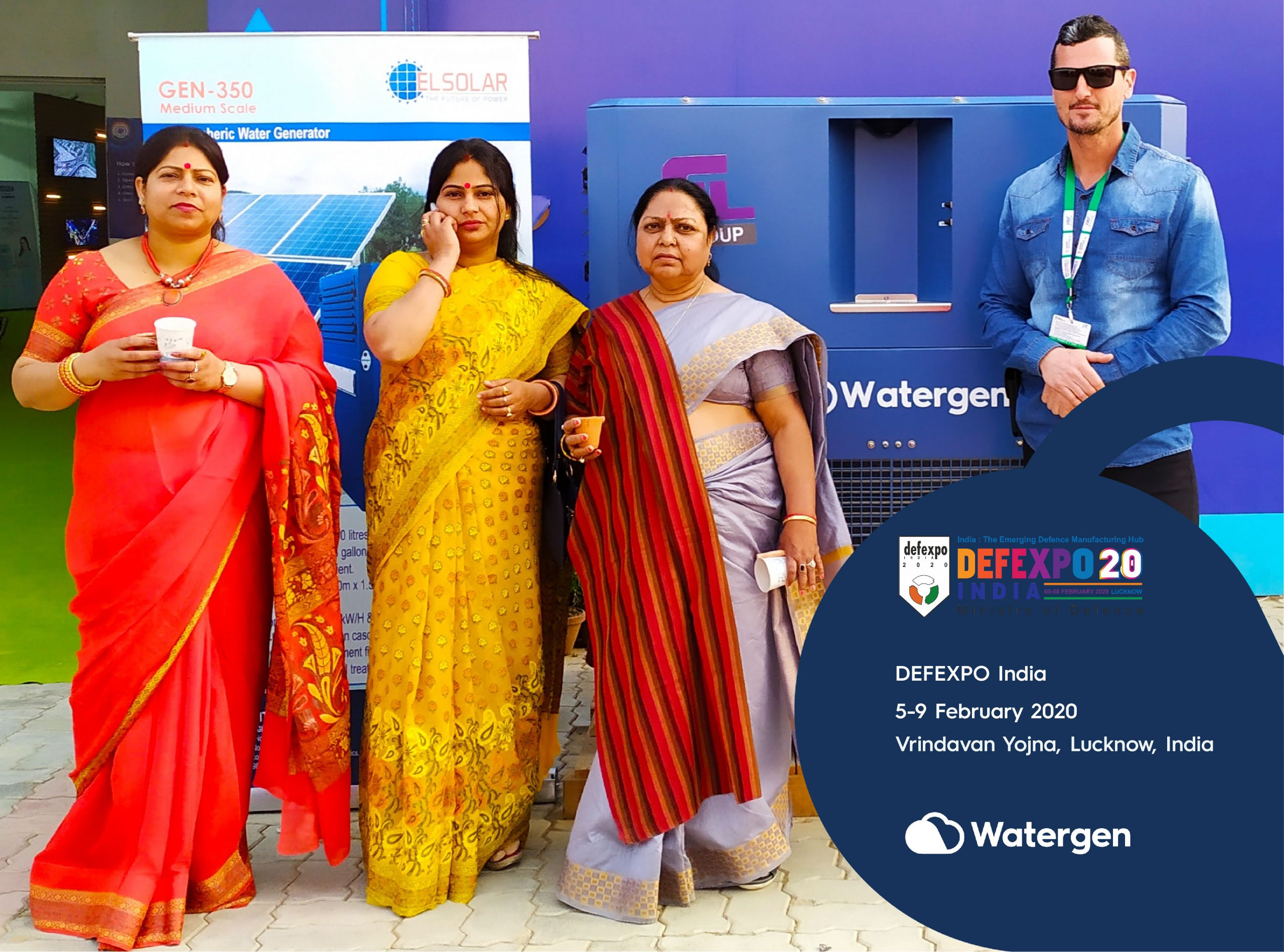 Watergen at Defexpo India