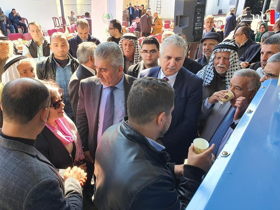 Israeli Water Technology Inaugurated in Gaza To Serve Needy Residents