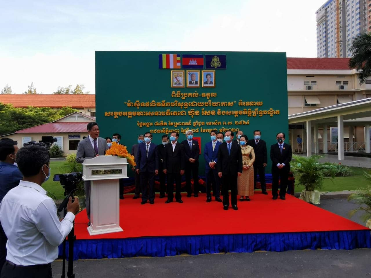 Cambodian government joins up with WaterGen and introduces our GEN-M into the national health structure