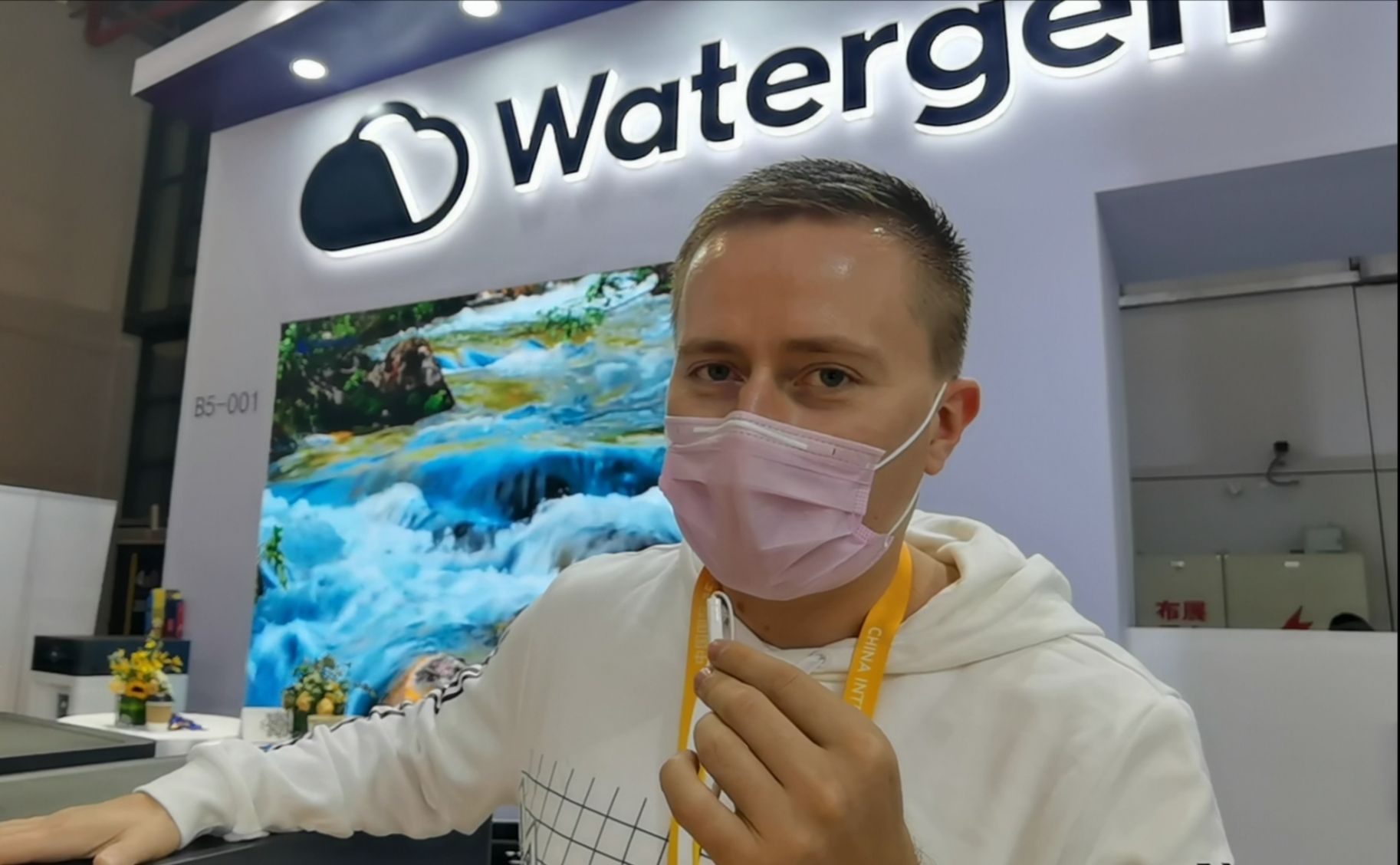 Watergen featured at third China International Import Expo in Shanghai
