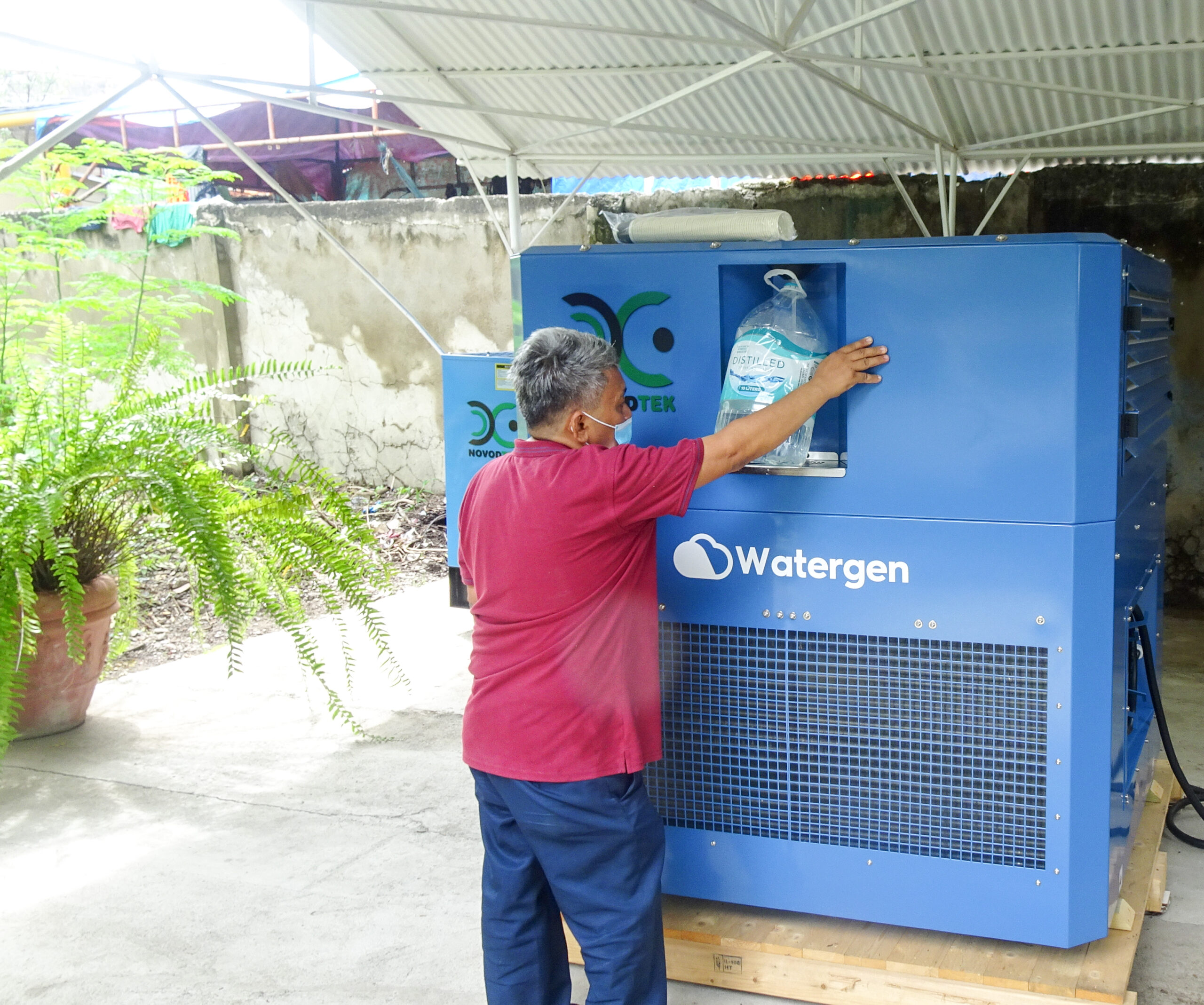 For the first time, Watergen in the Philippines