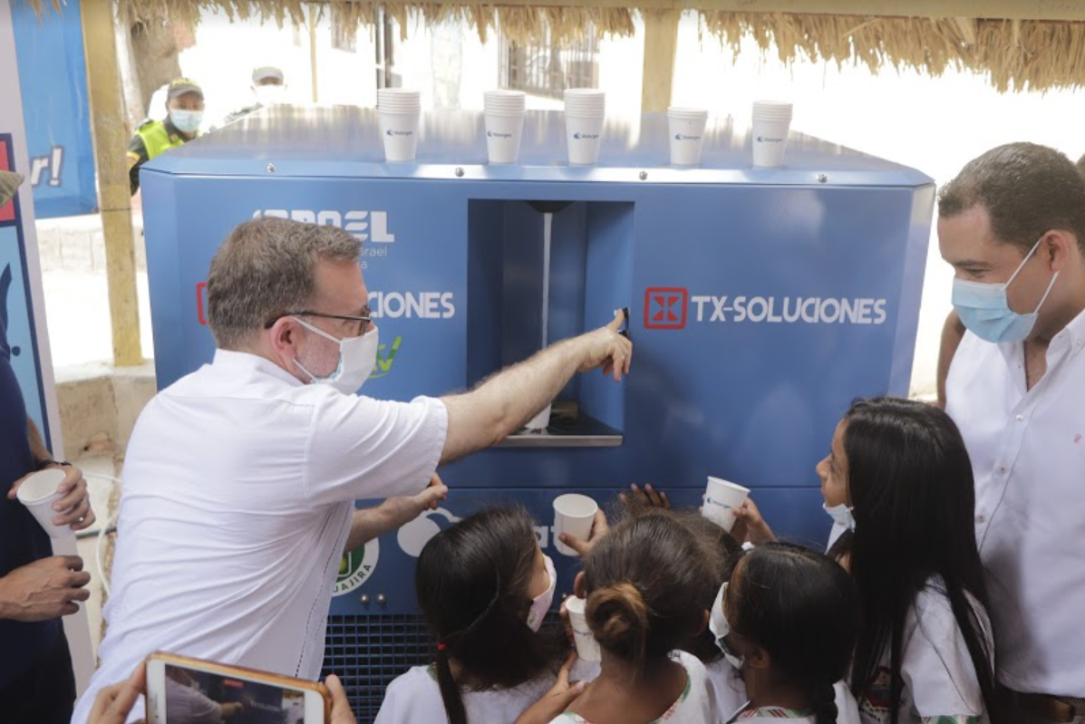 Watergen bringing drinking water from air in La Guajira