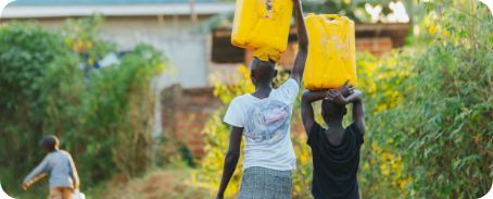 People carrying water