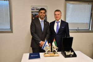 Watergen hosted the Ambassador of United Arab Emirates
