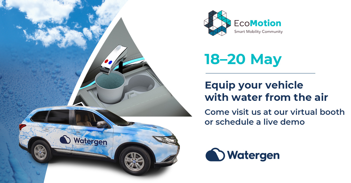 Watergen participating at EcoMotion2021